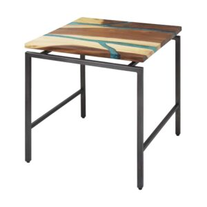 Elrond Teal End Table