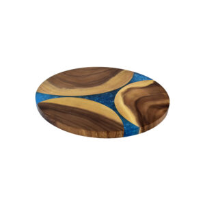 LAZY SUSAN WITH RESIN